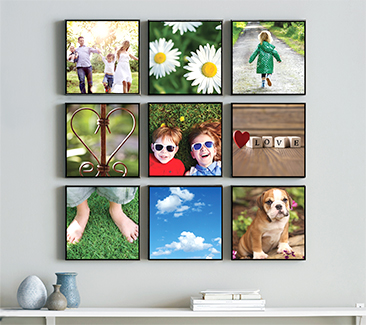 Personalize your walls with your favorite memories, people and places.