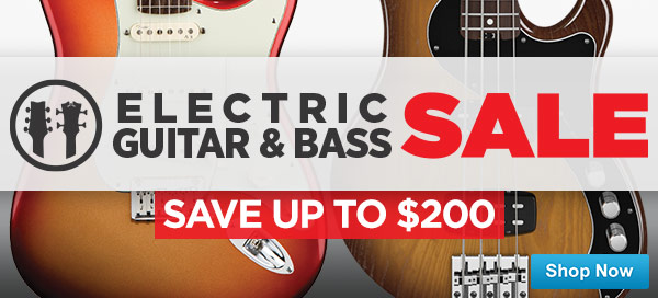 Electric Guitar and Bass Sale