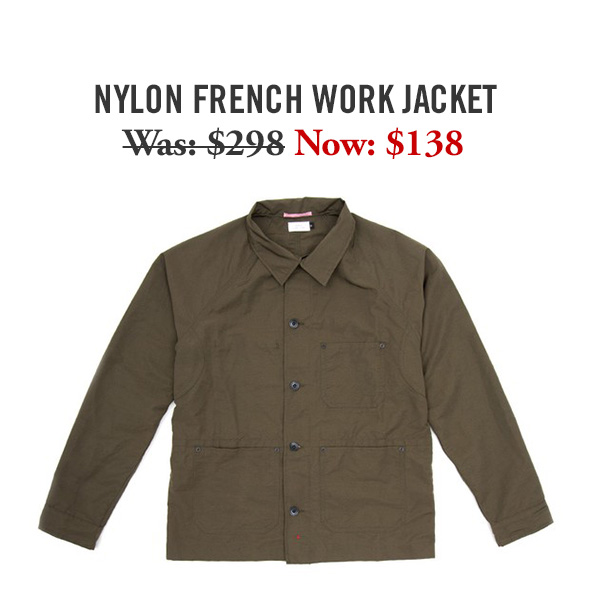 Nylon French Work Jacket