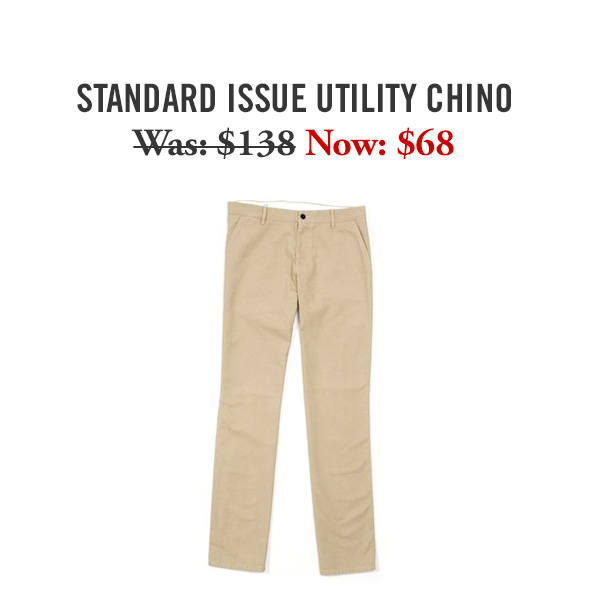 Standard Issue Utility Chino