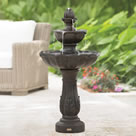 The Only Cordless Rechargeable Fountain