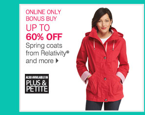 ONLINE ONLY BONUS BUY: UP TO 60% OFF 