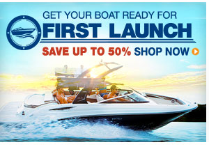 Get Your Boat Ready For First Launch - Save Up To 50%