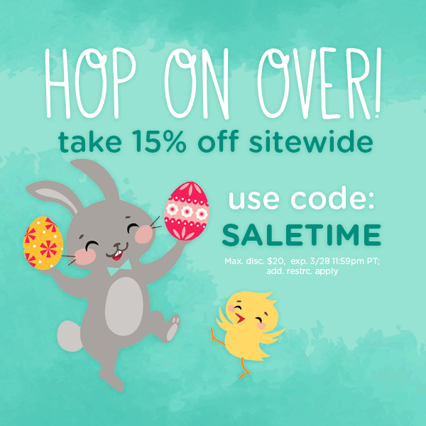 15% off with code SALETIME