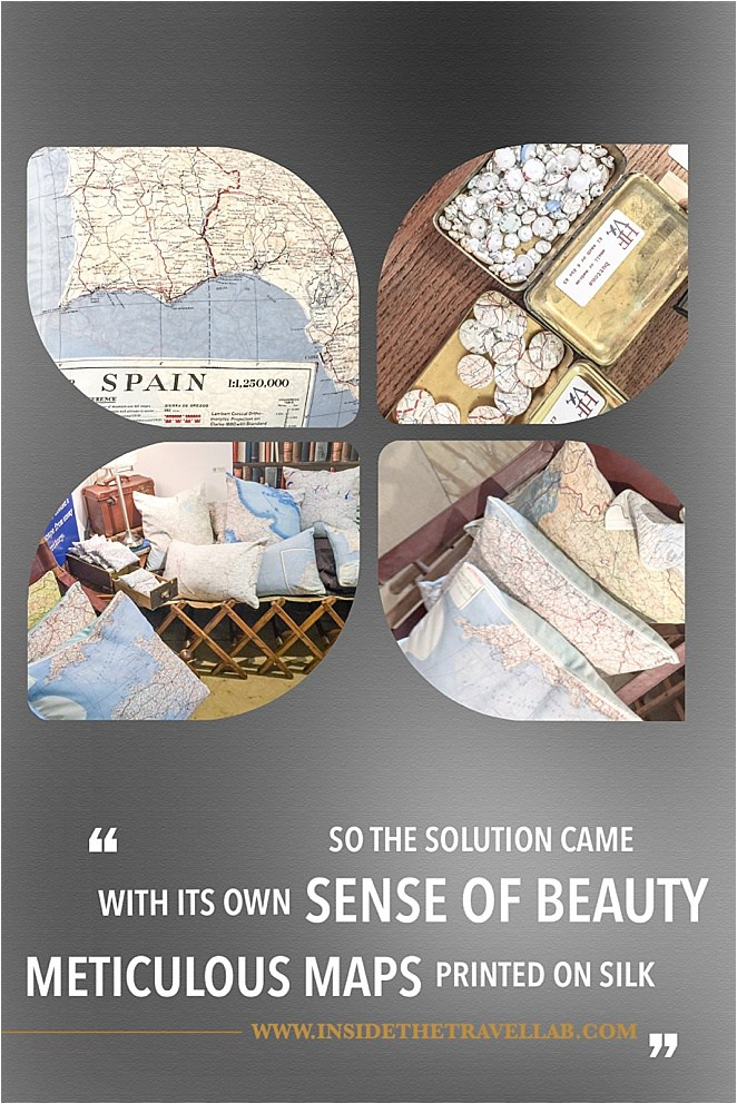Beautiful printed vintage maps with a great story too - via @insidetravellab