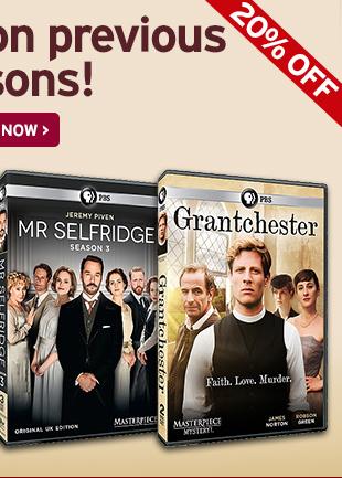 And save on previous seasons! SHOP NOW > Grantchester
