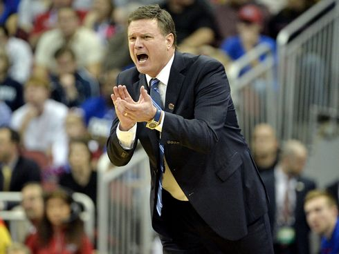 Kansas coach Bill Self was named the Naismith coach of the year in 2016 and led KU to a national title in 2008.