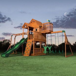Skyfort II Swing Set $1400 Shipped