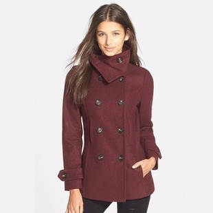 Nordstrom Women's Peacoat $29 Shipped