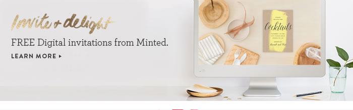 FREE Digital invitations from Minted.