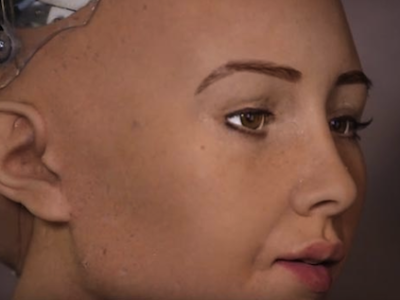 Future Artist Robot Wants to Destroy All Humans