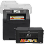 Brother Color Laser and Brother Inkjet All-in-One Printers