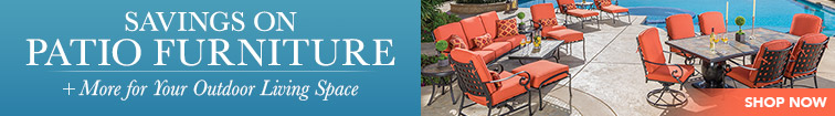 Savings on Patio Furniture + More for Your Outdoor Living Space. Shop Now.