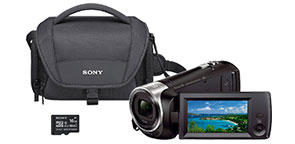 Sony HDR CX440 Camcorder Bundle