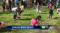 Families celebrate Easter at Land Park with egg hunt parade