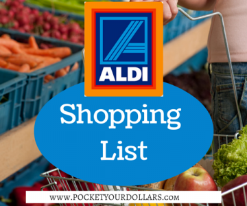 ALDI Shopping List Featured Image