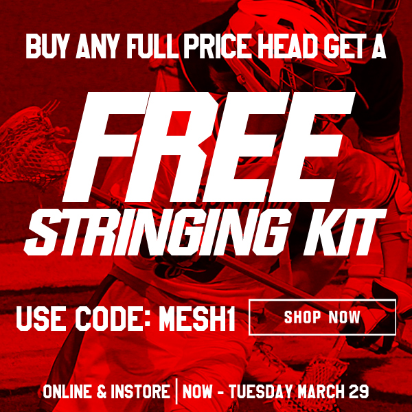 Free String Kit with Lacrosse Head