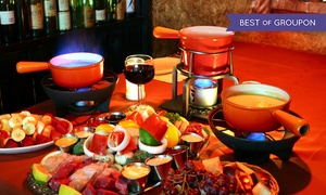 Up to 62% Off Romantic Fondue Dining at Geja's