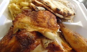 50% Off Charbroiled Chicken and Sides