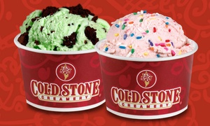 Up to 34% Off Ice Cream at Cold Stone Creamery