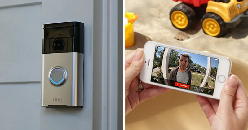 Now you can see video on your phone of who is at your front door