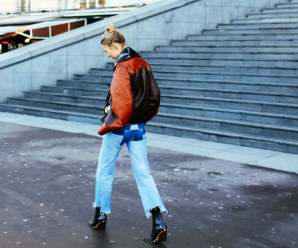How to Wear Fall's Novelty Denim Trend Right Now