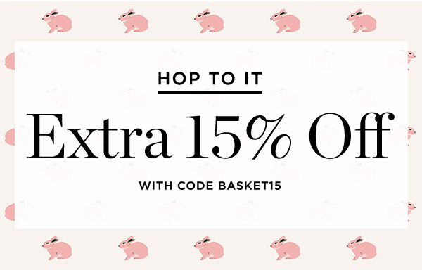 Extra 15% Off With Code Basket15