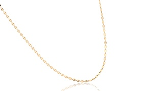 14K Solid Gold Sienna Chain Necklace