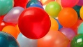 Birthday party, balloons, decorations