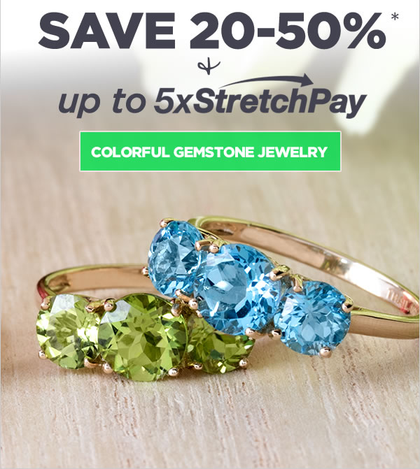 Shop Color Gemstone Jewelry