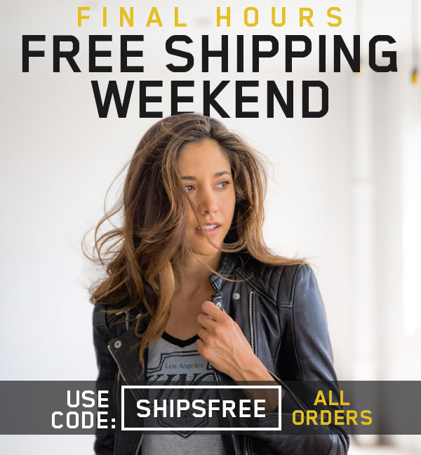 FREE SHIPPING WEEKEND.