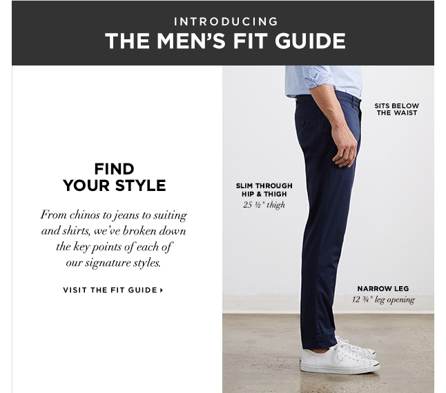 Introducing The Men's Fit Guide