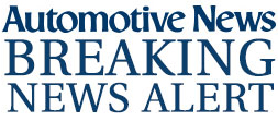 Automotive News Breaking News Alert