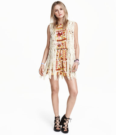 H&M Vest with Fringe