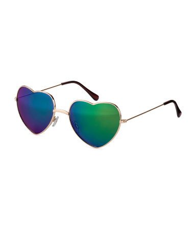 H&M Heart-shaped Sunglasses