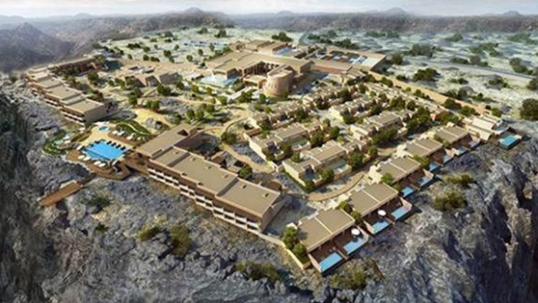 The resort is 66,000sqm and will have 115 rooms and villas overlooking the canyons, as well as 82 premier and deluxe canyon view rooms, and 33 private pool villas. - Supplied picture
