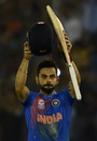 Virat Kohli acknowledges the applause after India's win, Australia v India, World T20 2016, Group 2, Mohali, March 27, 2016