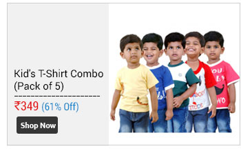 Boys Round neck T-Shirt Pack Of -5