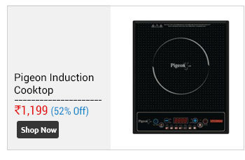 Pigeon Induction Cooktop Rapido Cute