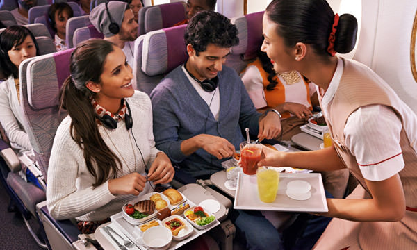Relax on board with world-class service and more