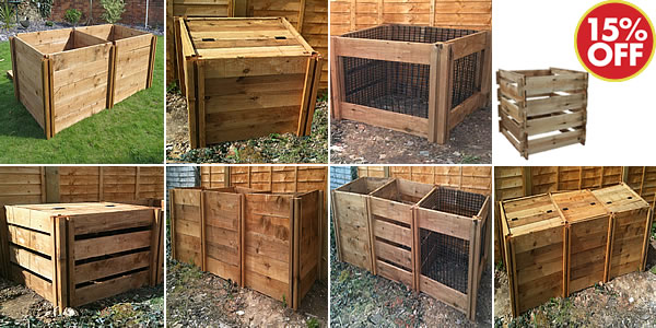 Wooden Modular Composters