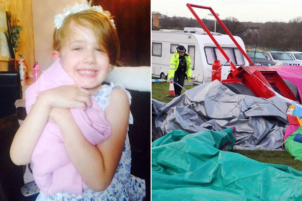 Tragic young girl killed in bouncy castle horror is named