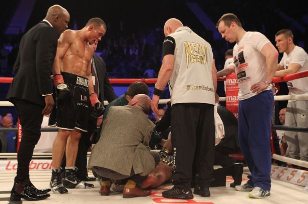Michael Watson admits Nick Blackwell injury gave him deja vu
