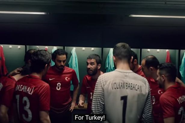 Arda Turan's amazing half-time speech in Nike advert will make you want to play football IMMEDIATELY