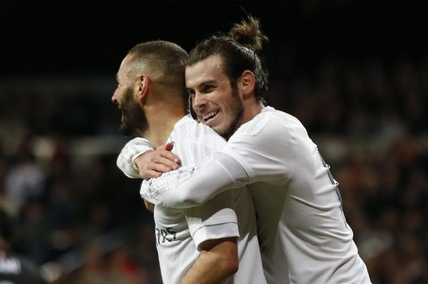 Gareth Bale and Karim Benzema's shooting in training gives Real Madrid hope for El Clasico against Barcelona