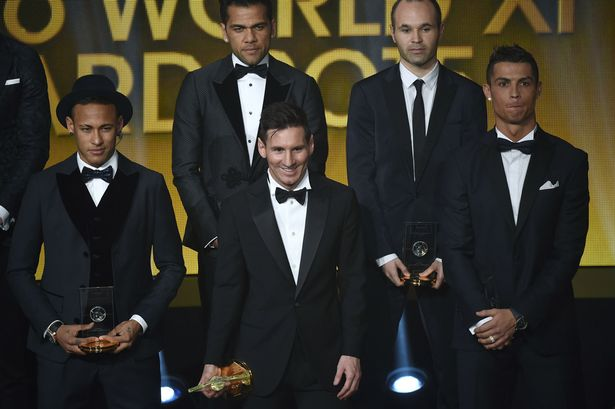 Cristiano Ronaldo 'very kind and very caring' towards Clasico rival Neymar at Ballon d'Or awards