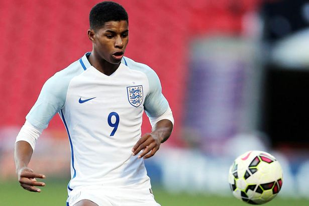 Manchester United striker Marcus Rashford suffers defeat on England Under 20s debut against Canada