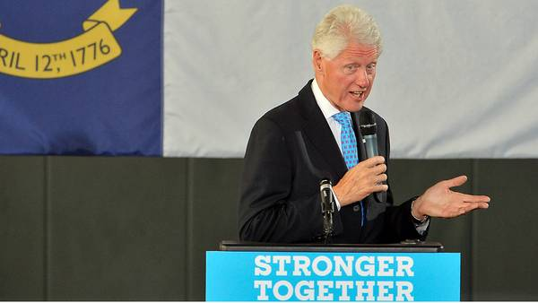 Image: President Bill Clinton to campaign in three Michigan cities on Monday