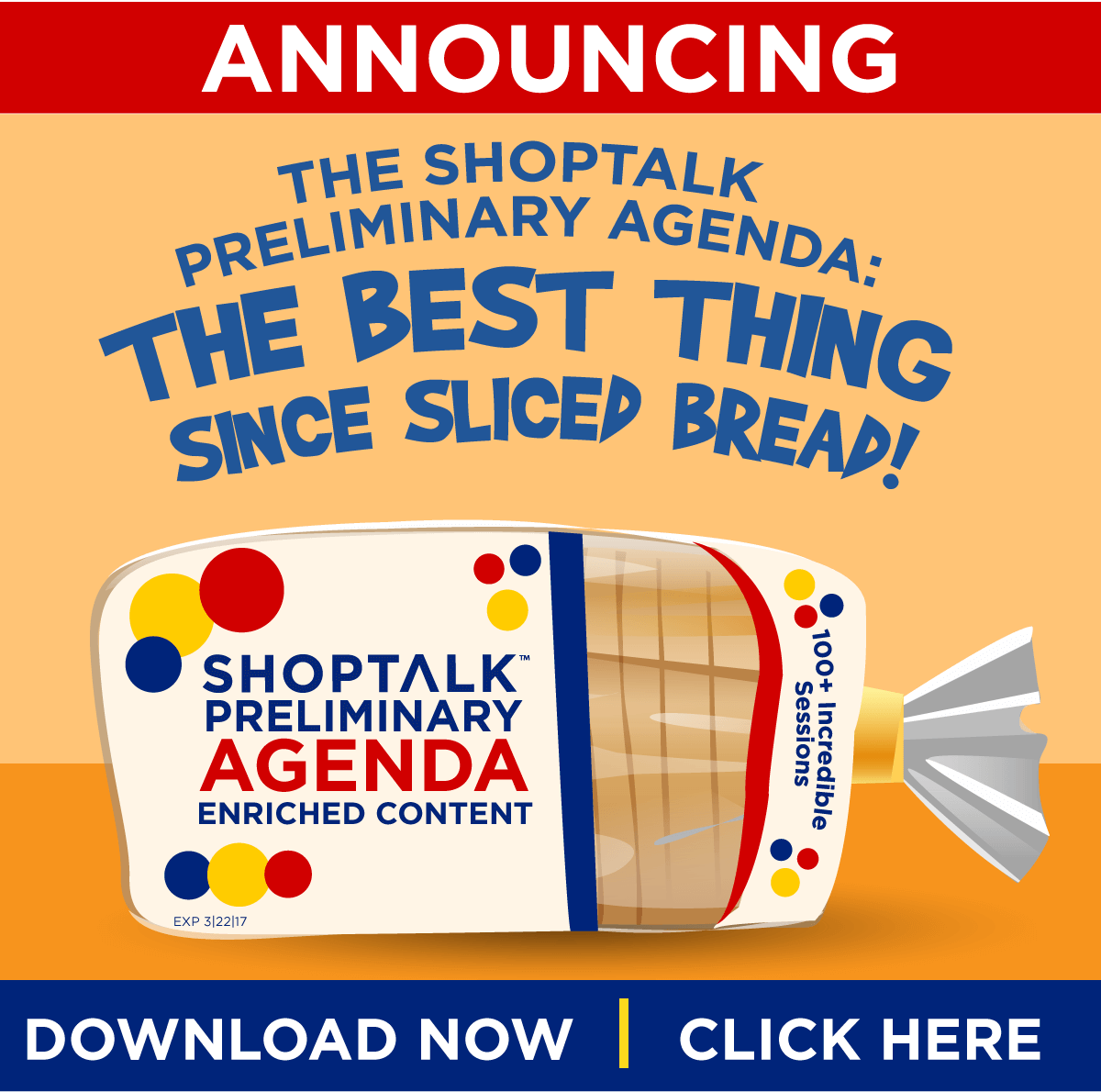 Shoptalk's Preliminary Agenda