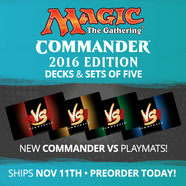 Commander 2016 Available for Preorder